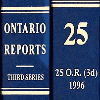 Richmond (1995), 25 O.R. (3d) 448 (Ont. Div. Ct.)