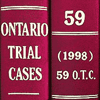 Collins (1998), 59 O.T.C. 13 (Ont. Ct. (G.D.))