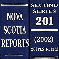 Claussen costs (2002), 201 N.S.R. (2d) 58 (N.S. C.A.)
