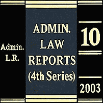 Megens (2003), 10 Admin. L.R. (4th) 83 (Ont. Div. Ct.)