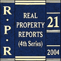 Morray (2003), 21 R.P.R. (4th) 226 (Ont. Sup. Ct.)