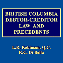 British Columbia Debtor-Creditor Law & Precedents - Robinson & Di Bella - cites Amberwood twice