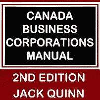 Canada Business Corporations Manual (2nd ed.) - Quinn - cites St Lawrence