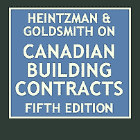 Canadian Building Contracts (5th ed.) - Heintzman & Goldsmith - cites Collins