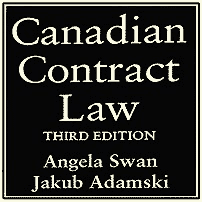 Canadian Contract Law (3rd ed.) - Swan & Adamski - cites Claussen