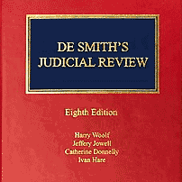 De Smith's Judicial Review [UK] (8th ed., 2018) - Woolf et al. - cites McNamara