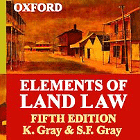 Elements of Land Law [UK] (5th ed.) - Gray & Gray - cites Amberwood