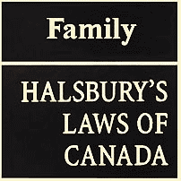 Family - Halsbury's Laws of Canada - Lenkinski - cites Kraft