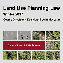 Land Use Planning Law - Hare & Mascarin - cites Amberwood