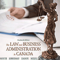 The Law & Business Administration in Canada (14th ed.) - Smyth et al. - cites Amberwood