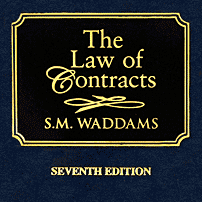 The Law of Contracts (7th ed.) - Waddams - cites Claussen