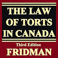 The Law of Torts in Canada (3rd ed.) - Fridman - cites Unilux