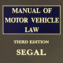 Manual of Motor Vehicle Law (3rd ed.) - Segal - discusses Fontana v Ontario