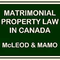 Matrimonial Property Law in Canada - McLeod & Mamo - cites Kraft