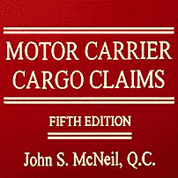Motor Carrier Cargo Claims (5th ed.) - McNeil - sums R & S Transport