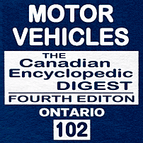 Motor Vehicles - CED Ont (4th ed.) - Segal - sums Fontana v Ont