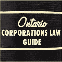 Ontario Corporations Law Guide (2nd ed.) - Cohen - cites St Lawrence