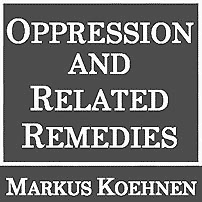 Oppression & Related Remedies - Koehnen - cites St Lawrence 5 times