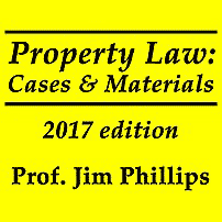 Property Law 2017 - Phillips - discusses Amberwood