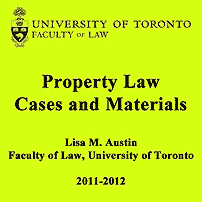 Property Law Cases 2011-2012- Austin - excepts Amberwood