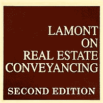 Real Estate Conveyancing (2nd ed.) - Lamont - sums Morray, and discusses Amberwood