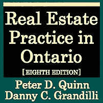 Real Estate Practice in Ontario (8th ed.) - Quinn & Grandilli - discusses Amberwood