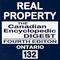 Real Property - CED Ont (4th ed.) - Andree - cites Amberwood
