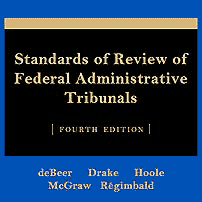 Standards of Review of Federal Administrative Tribunals (4th ed.) - deBeer et al. - cites Symtron (No1) twice