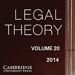 20 Legal Theory 79-105 (2014) - Austin paper discusses Amberwood