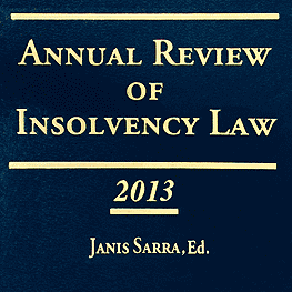 Annual Review of Insolvency Law 2013 - McGregor & Casey paper cites St Lawrence
