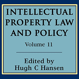 11 Intellectual Property Law & Policy (2010) - Justice Vancise paper cites Megens