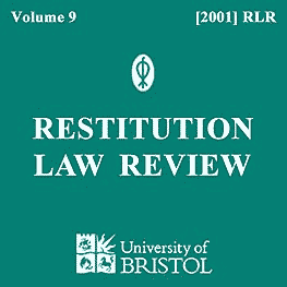 9 Restitution Law Review 146 (2001) - L. Smith paper sums Triathalon (2000 OntSupCt)