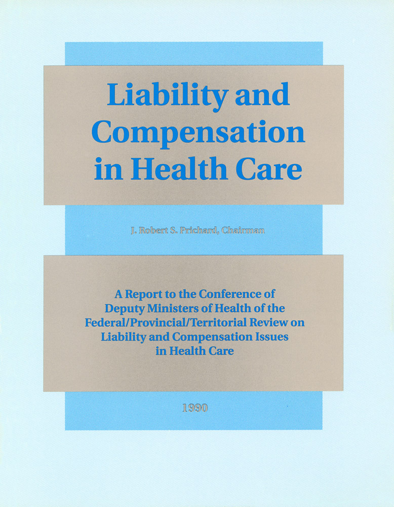 Liability and Compensation in Health Care 1990 - see App B for Simm chapter