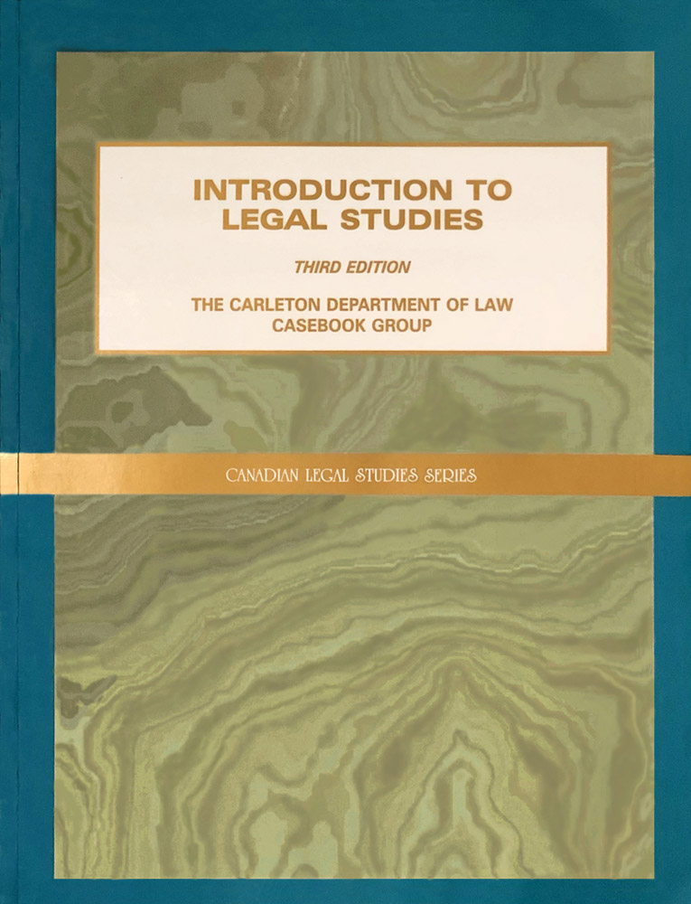 Introduction to Legal Studies (3rd ed., 2001) - c. 7(a)(ii) by Simm et al.