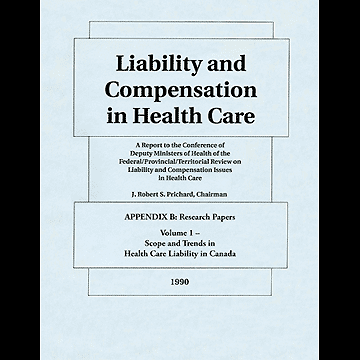 Liability and Compensation in Health Care 1990 - App B containing Simm chapter
