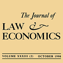 33 Journal of Law and Economics 307 (1990) Carr & Mathewson - assisted