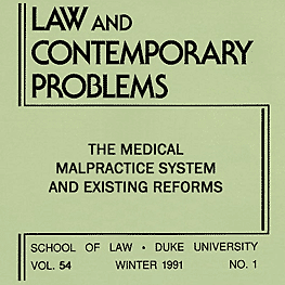 54 Law and Contemporary Problems 217 (1991) Dewees et al. - assisted