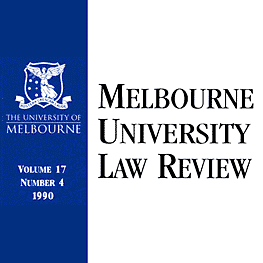 17 Melbourne U Law Rev 539 (1990) Trebilcock et al. - assisted