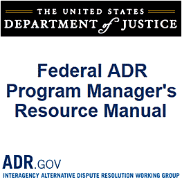 Federal ADR Program Manager's Resource Manual - U.S. Dept of Justice - cites Feld & Simm 1998 Mediating Professional Misconduct