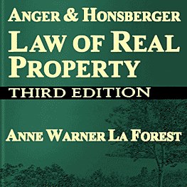 Law of Real Property (3rd ed.) Anger, Honsberger & La Forest - cites Simm 2002 Swamp