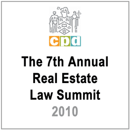 7th Annual Real Estate Law Summit (LSUC CPD 2010) c3 by Volpatti - recommends Simm 2002 Swamp