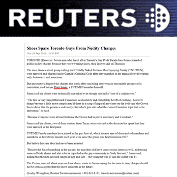 Reuters 2002-09-20 - Simm convinces Crown to drop charges
