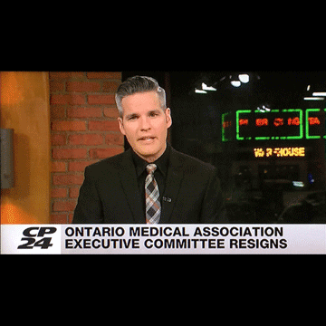 Toronto CP24 LiveAt10 2017-02-06- OMA executive committee resigns2