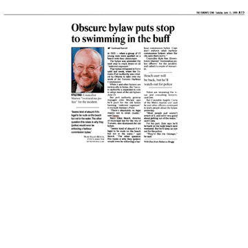 Toronto Star 1999-06-15 p.A12  - (continued from p.A1)