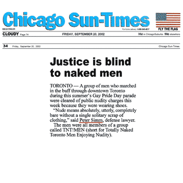 Chicago Sun-Times 2002 Simm convinces prosecutors to drop nudity charges