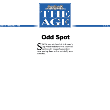The Age [Melbourne, Australia] 2002-09-24 - Charges gone