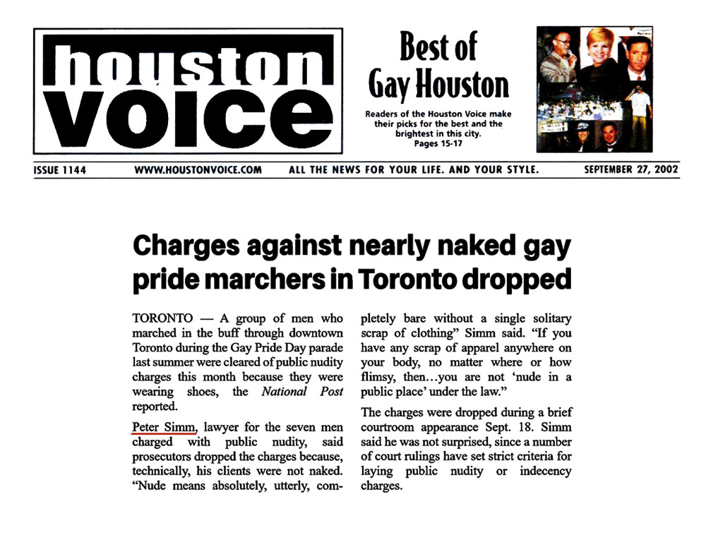 Houston [Texas] Voice 2002-09-27 - Simm convinces prosecutors to drop nudity charges