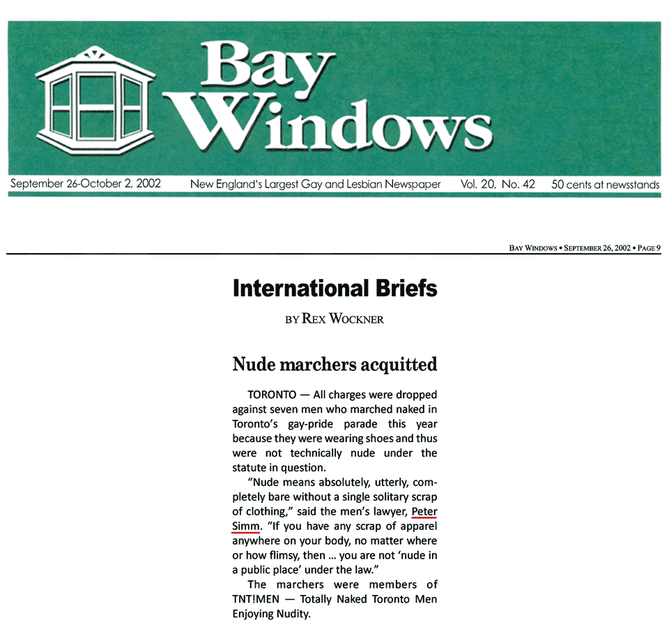 Boston [Mass.] Bay Windows 2002-09-26 - Simm convinces prosecutors to drop nudity charges